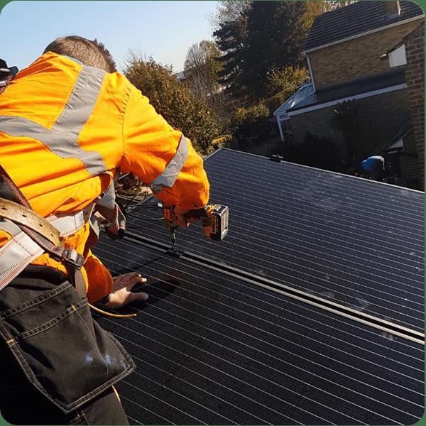 rest renewable energy services team solar maintenance