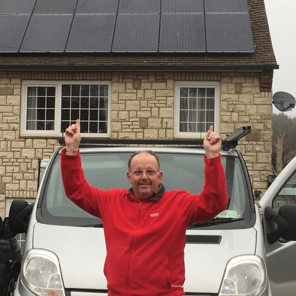 rest renewable energy services team solar panel home gallery happy customer