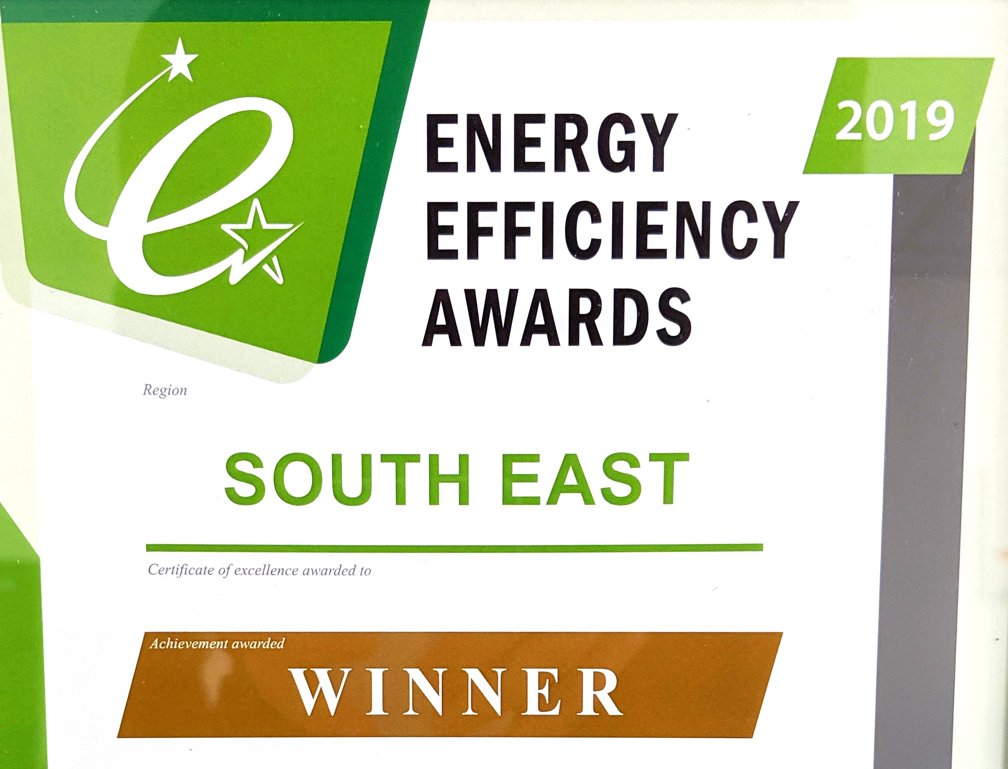 Energy Efficiency Awards 2019
